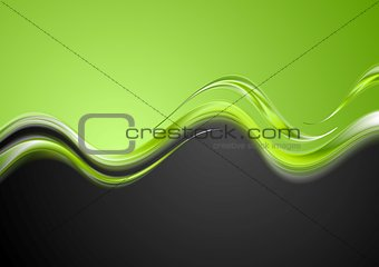 Bright contrast waves design