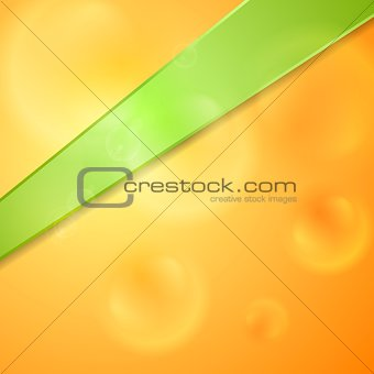 Abstract glossy bright background