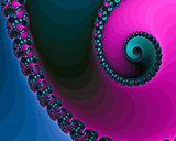 Beautiful Spiral Fractals