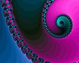 Beautiful Spiral Fractals