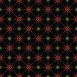 Seamless pattern of symbolic stars