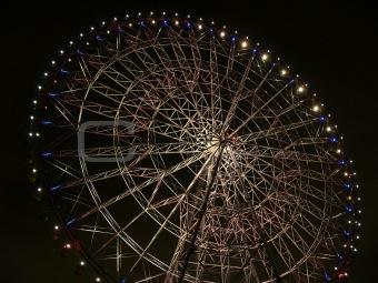 night time big-wheel