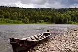 The river Vishera in the Ural mountains