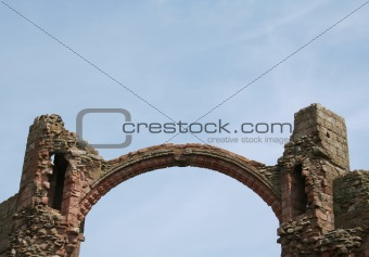 Arch at Lindisfarne.