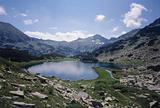 Muratovo lake, Pirin mountain, National Park, Bulgaria, Balkans