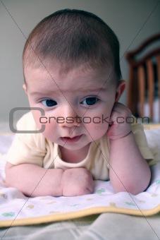 Baby thinking