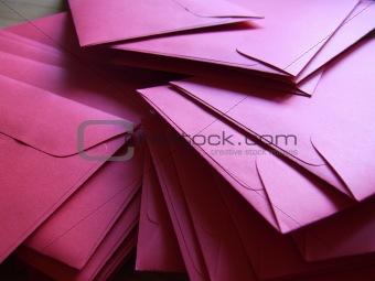 a lot of envelopes