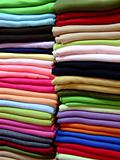 Colorful cashmere scarves