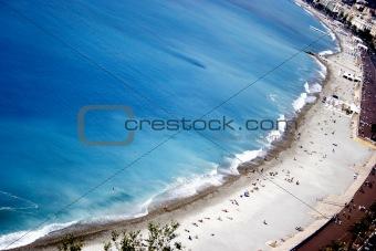 azure coastline