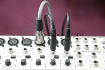 Audio Mixing panel 2