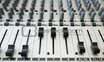 Audio Mixing panel  2