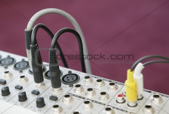 Audio Mixing panel 4