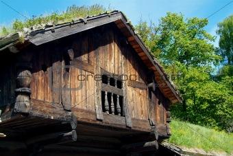 Old, Norwegian house