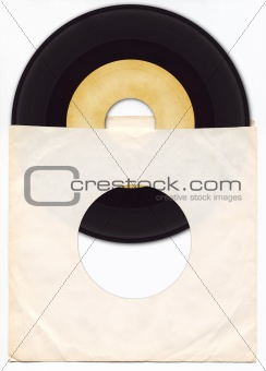 45rpm Vinyl Record with Sleeve