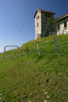 Church on a hilltop 2