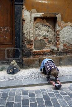 Poverty in Prague