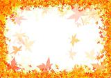 Fall autumn frame