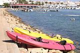 sea canoes