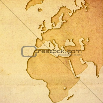 aged Europe map-vintage artwork