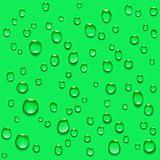 transparent water drops