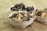Dried asias mushroom mix