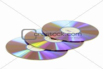 Three DVDs
