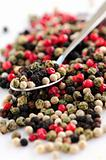Mixed peppercorns