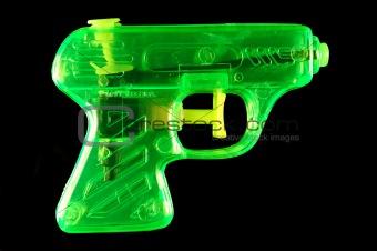 Green Squirt Gun