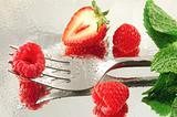 Raspberries & Strawberries