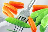 Snow Peas & Carrots