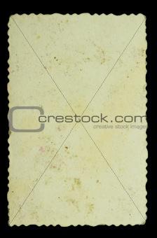 vintage paper piece