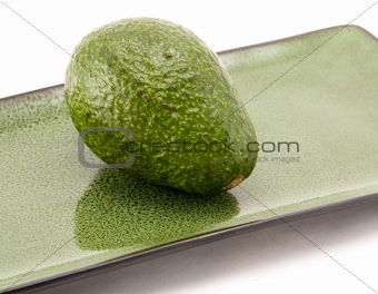 Avocado and Plate