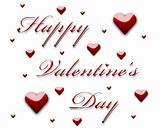Valentine writing