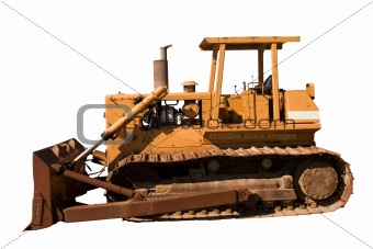 Old Dozer Side View