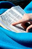 Bible time and my blanket