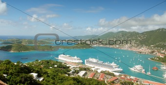 Beautiful view of St Thomas