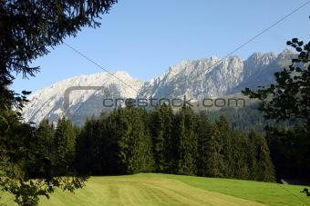 Alp panorama - Austria