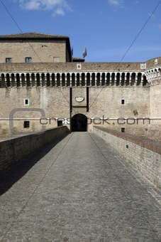 castle in Senigllia - Italy