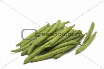 bean on white background