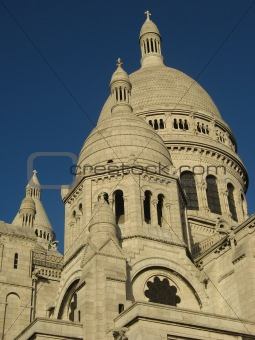 Basilica of Sacre-Coeur in Paris