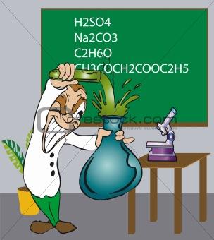 Toonimal Scientist