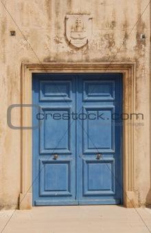 church's door