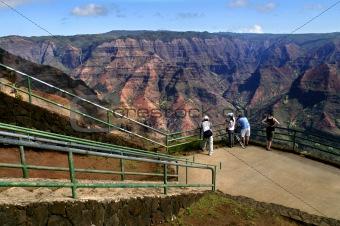 Canyon Overlook at Waimea
