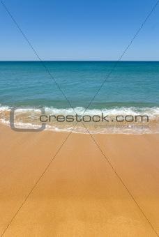 Beautiful beach Sunny day