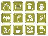 green food symbols