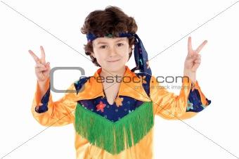 Child hippie