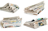 collection of newspaper
