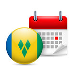 Icon of National Day in Saint Vincent and the Grenadines