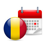 Icon of National Day in Romania