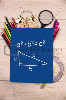 Composite image of trigonometry